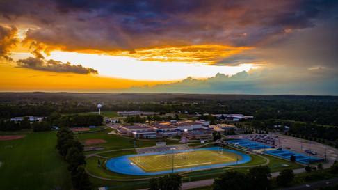 Aerial-Photography-Lakeland-High-School-Metro-Detroit
