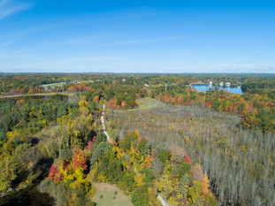 Drone-Photography-Poly-Ann-Trail-Lake-Orion-Michigan