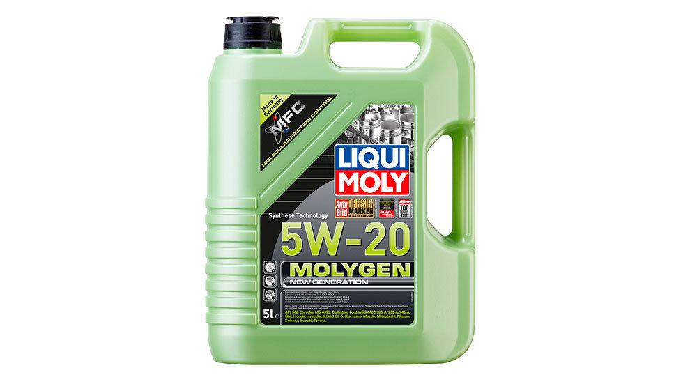 НС-синтетическое моторное масло Molygen New Generation 5W-20 5л