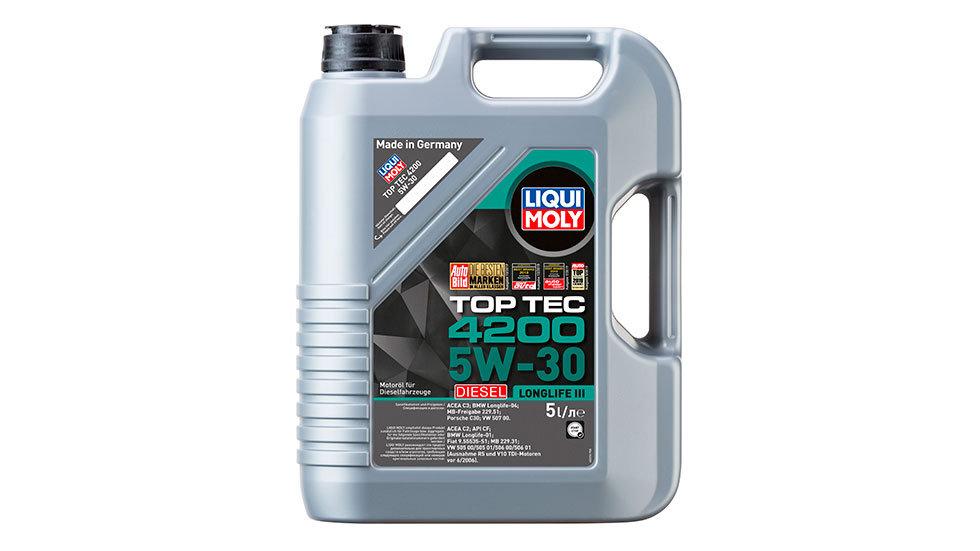 НС-синтетическое моторное масло Top Tec 4200 Diesel 5W-30 5л