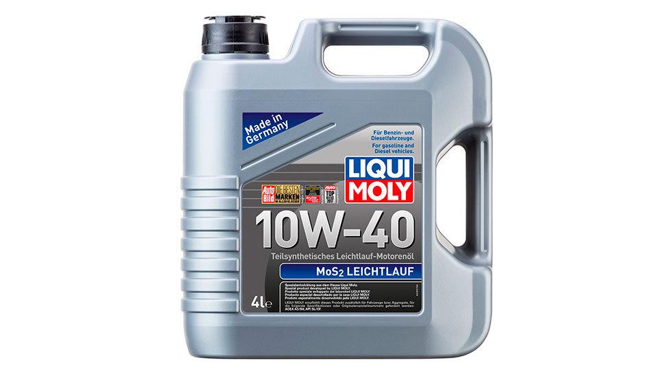 Полусинтетическое моторное масло MoS2 Leichtlauf 10W-40 4л