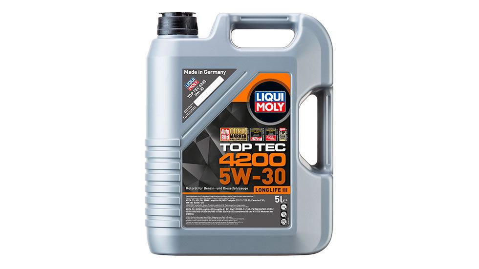 НС-синтетическое моторное масло Top Tec 4200 5W-30 5л