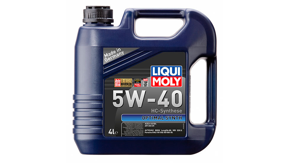 НС-синтетическое моторное масло Optimal Synth 5W-40 4л