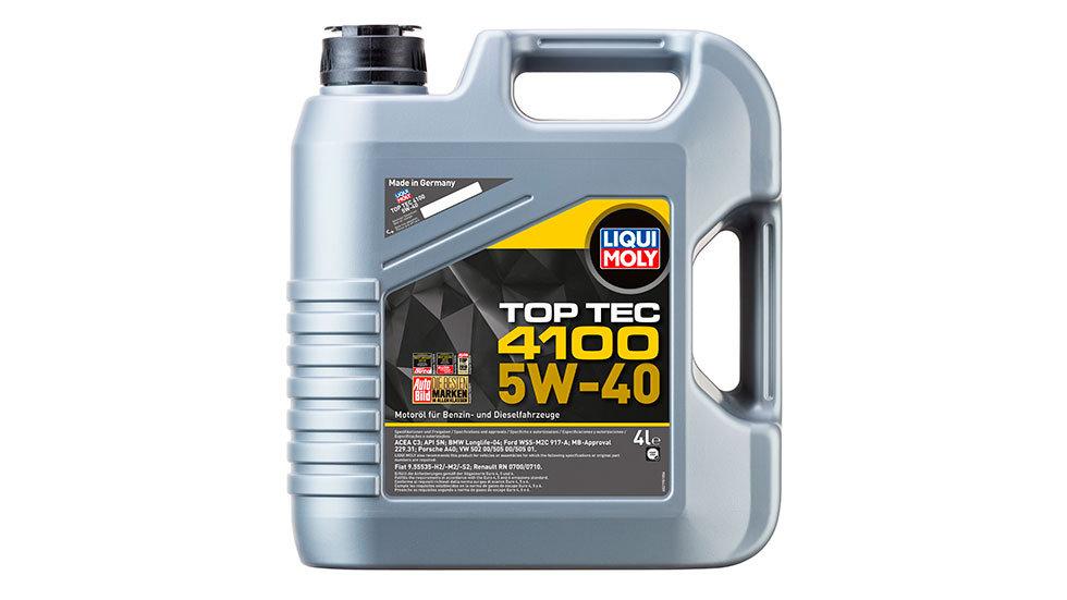 НС-синтетическое моторное масло Top Tec 4100 5W-40 4л