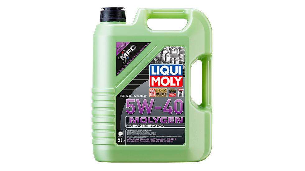 НС-синтетическое моторное масло Molygen New Generation 5W-40 5л