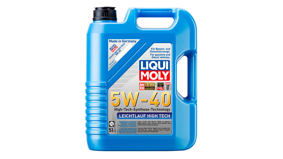 НС-синтетическое моторное масло Leichtlauf High Tech 5W-40 5л.