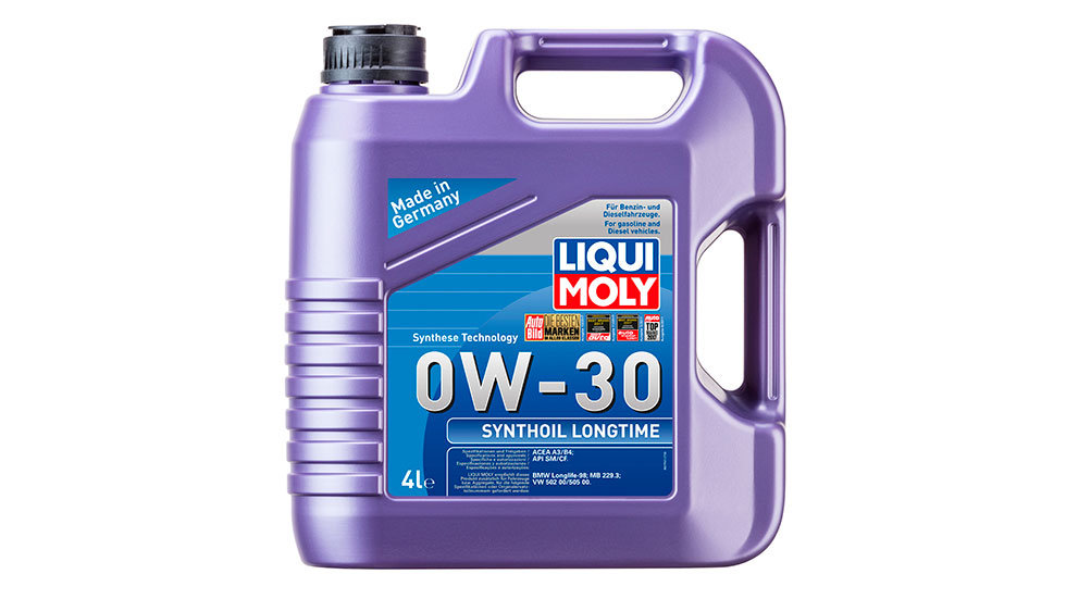 Синтетическое моторное масло Synthoil Longtime 0W-30 4л