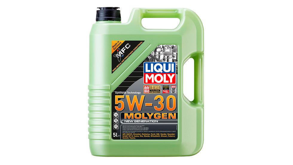 НС-синтетическое моторное масло Molygen New Generation 5W-30 5л