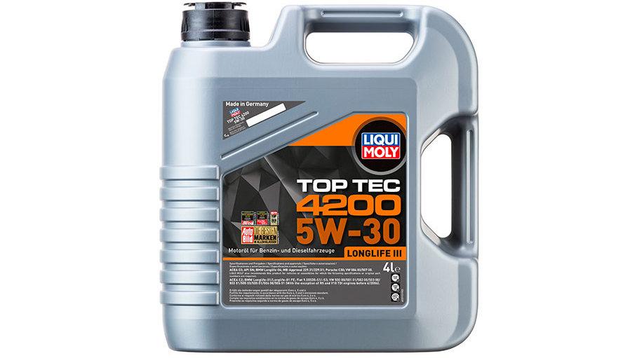 НС-синтетическое моторное масло Top Tec 4200 5W-30 4л