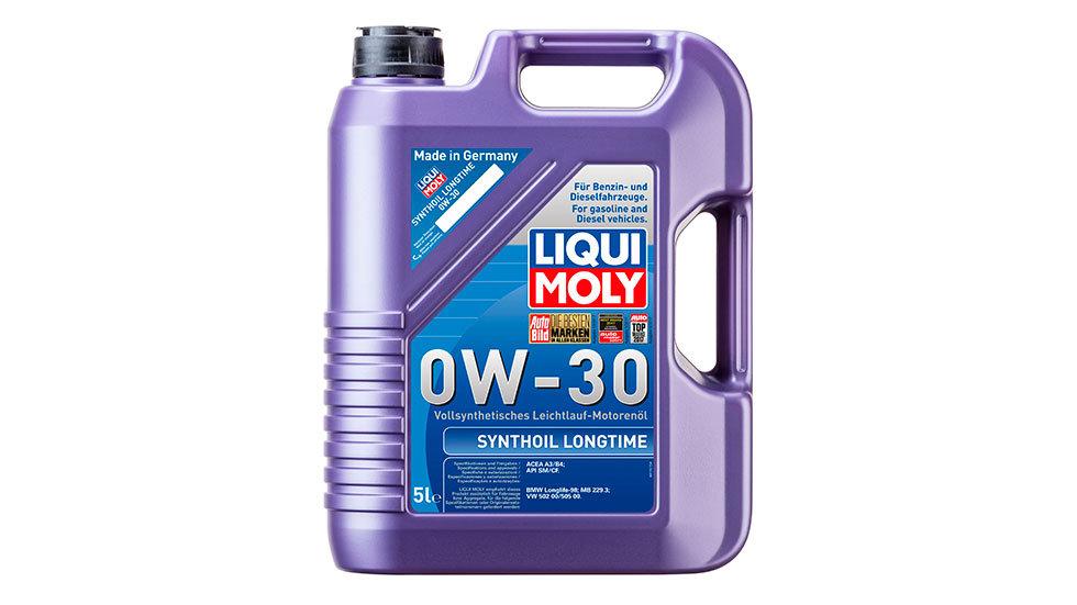 Синтетическое моторное масло Synthoil Longtime 0W-30 5л