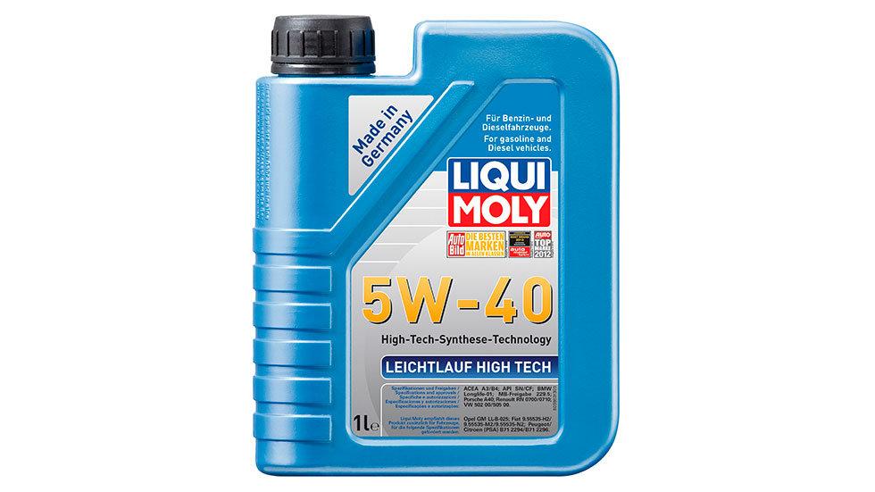 НС-синтетическое моторное масло Leichtlauf High Tech 5W-40 1л