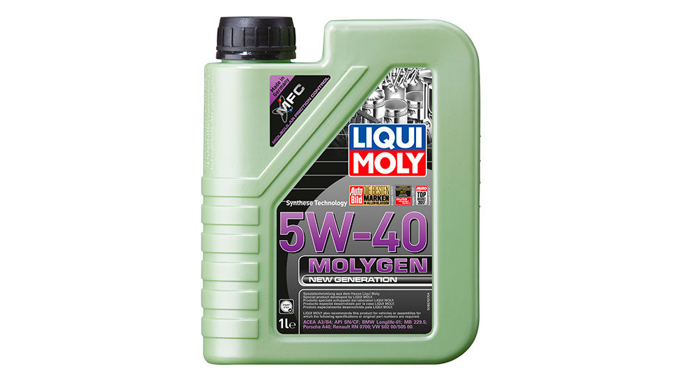 НС-синтетическое моторное масло Molygen New Generation 5W-40 1л