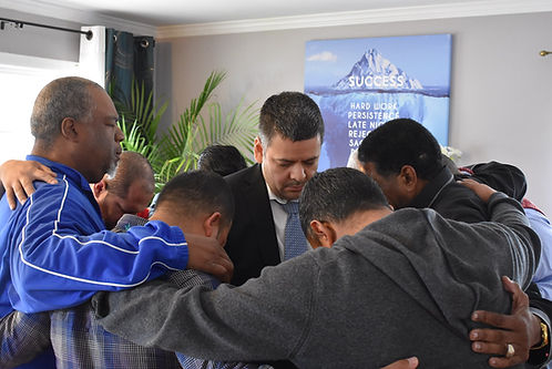Pastor Victor Brings healing to the Nort