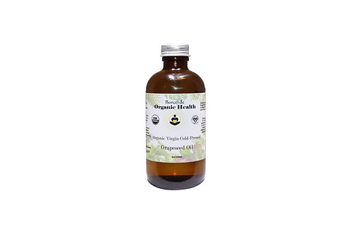 Organic Grapeseed Oil 4oz