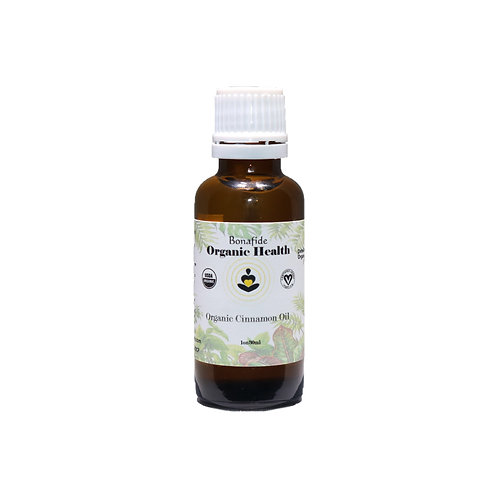 Organic Cinnamon Oil 1oz