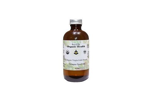 Organic Sesame Seed Oil 4oz
