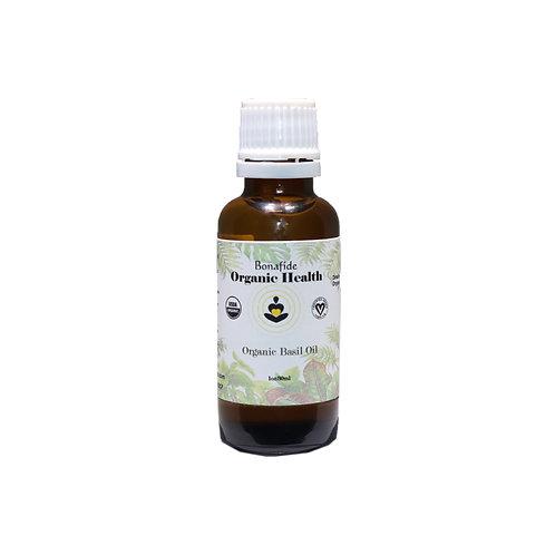 Organic Basil Oil 1oz