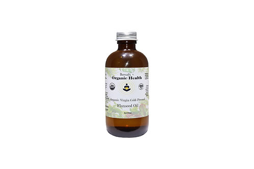 Organic Flaxseed Oil 4oz