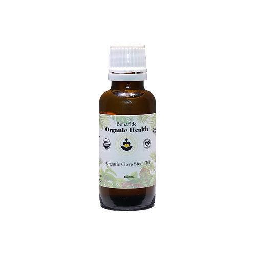 Organic Clove Stem Oil 1oz
