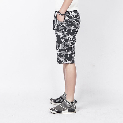 Men's Street Camouflage Casual Tooling Cotton Shorts