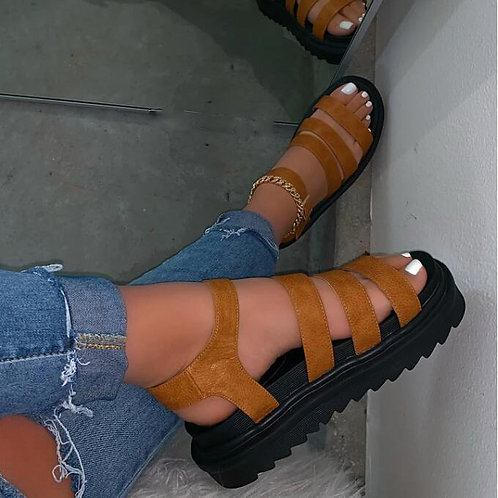Women Summer Outwear Leisure Platform Sandals