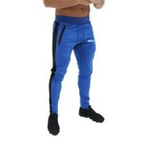 Men Fashion Letter Print Pocket Drawstring Sports Pants