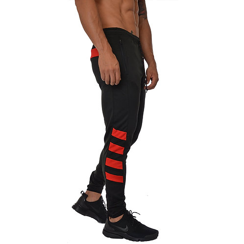 Fashion Color Blocking Fitness Sports Pants