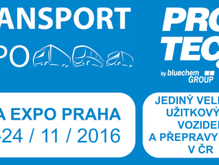 TRANSPORT EXPO: 22.-24. 11. 2016