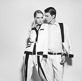 El hombre y la mujer Blanco y Negro