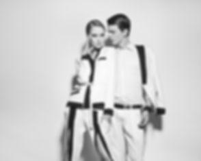 Mann und Frau Schwarz und Weiß