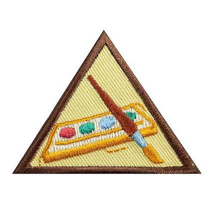 Brownie Painting Badge (1/12)