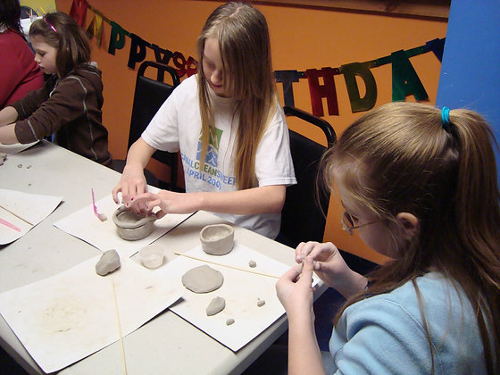 Pottery Wheel and Hand Building - Session2 (12/27)