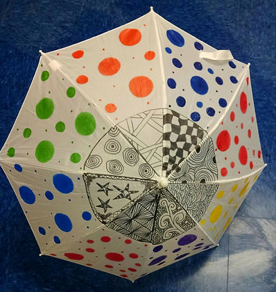 School Break Mini Camp: Umbrella Painting + Shrinky Dinks (4/26)