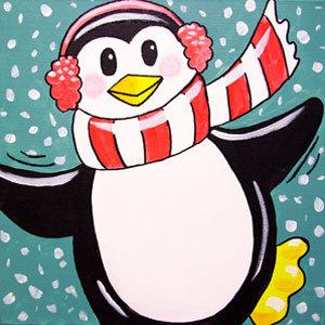 Kids' Paint 'n Party @ The Studio - Penguin(12/30)