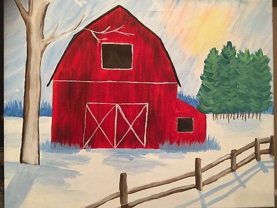 Paint 'n Party at the Bull's Head Inn (1/31)