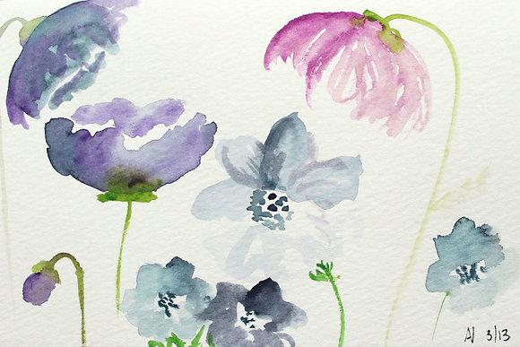Beginning Watercolor (4 weeks - starts 3/16)