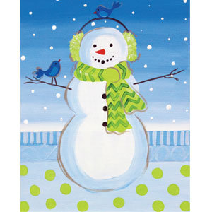 Paint and Donate @ Grapevine - Snow Pal (12/2)