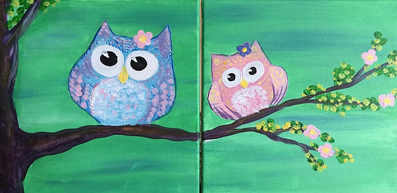 Family Paint 'n Party at The Studio (2/25)