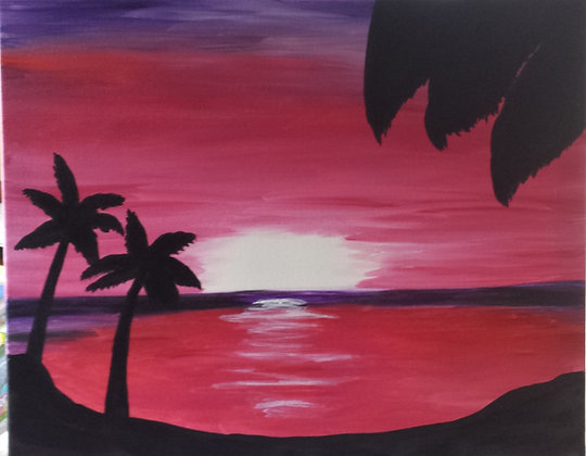 Paint 'n Party @ The Studio - Tropical Suns (3/29)