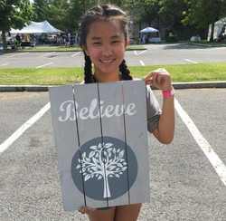 Believe Board Art