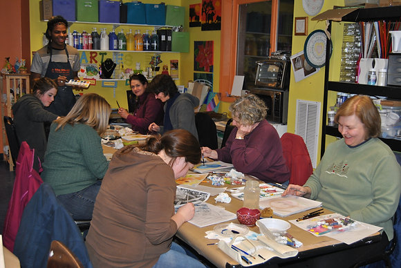Drawing and Painting - 4 week session (2/2 - 2/23)