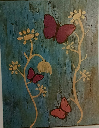 Paint 'n Party in Davenport: Blue Butterf...(3/26)