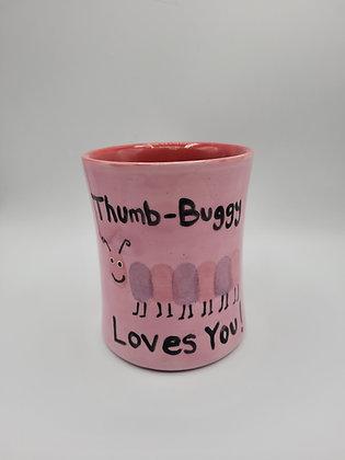 Valentine's Thumb Print Mug