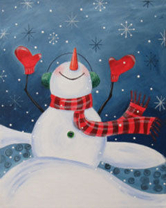 Paint 'n Sip at Tagua Nut Cafe (12/14)