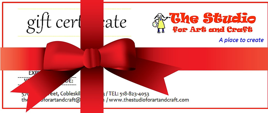 Gift Certificate to The Studio