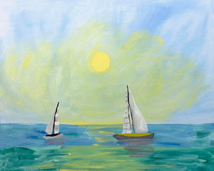 Paint 'n Party @ The Studio - Day at Sea (8/9)
