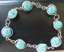 Jewelry Techniques - Wire and Bead Bracelet (8/26)