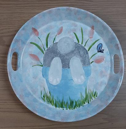 Shy Bunny Platter (3/29)