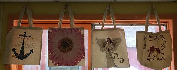 Paint a Canvas Tote (6/9)
