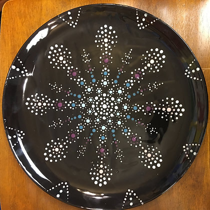 Mandala Snowflake Plate (1/12)